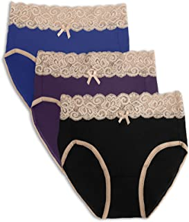High Waist Postpartum Underwear & C-Section Recovery Maternity Panties 3 Pack