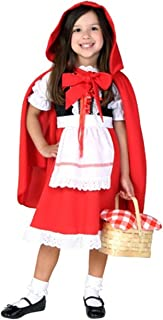Deluxe Toddler Little Red Riding Hood Costume Toddler Halloween Costume 4T