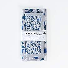 Designparken キッチンタオル ふきん スポンジワイプ テキスタイル 北欧 デザイン ノルウェー ギフトセット (Terazzo ブルー)