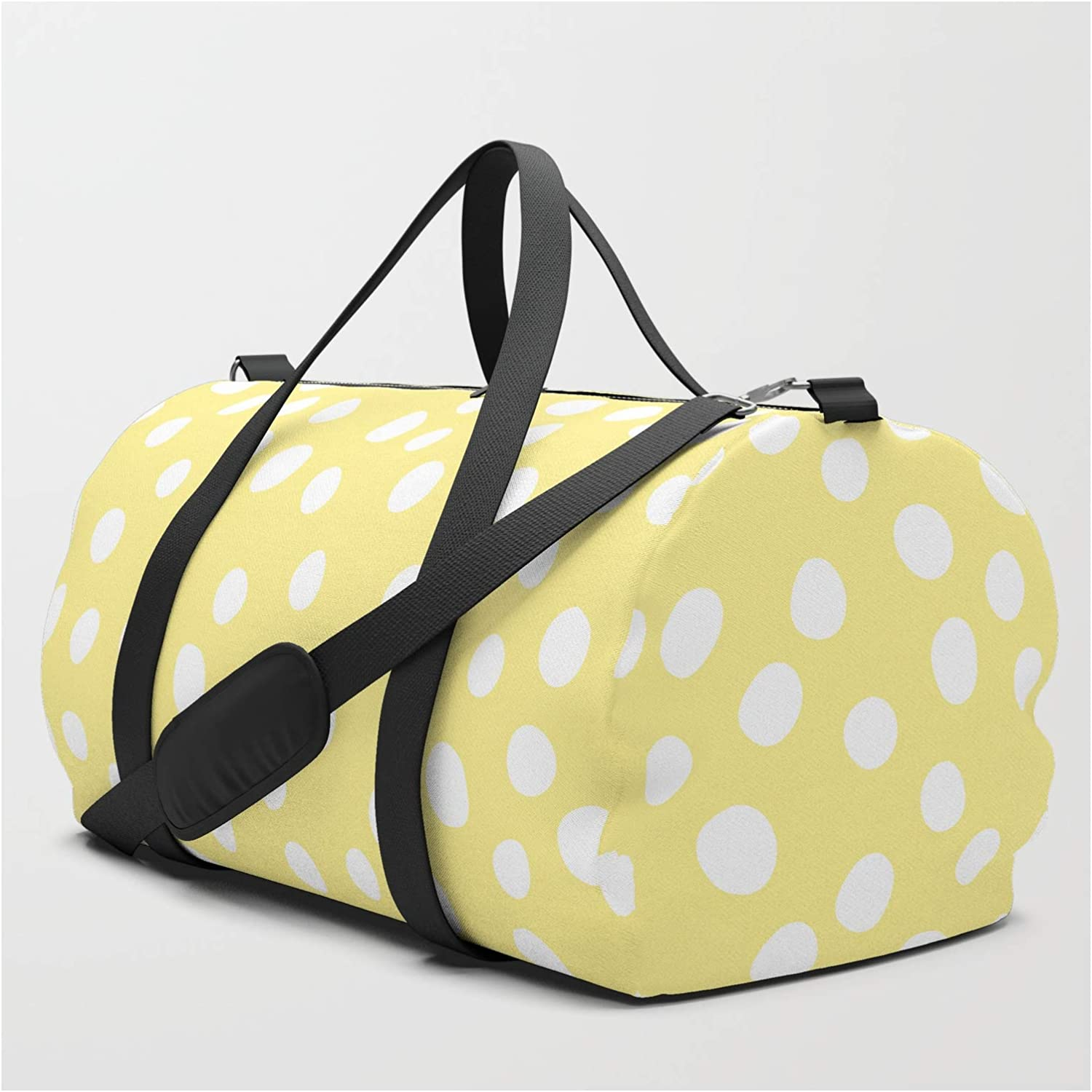 Society6 Pastel Yellow and Fixed price for sale White Doodle Tra Dots Houston Mall on Seafoam12 by
