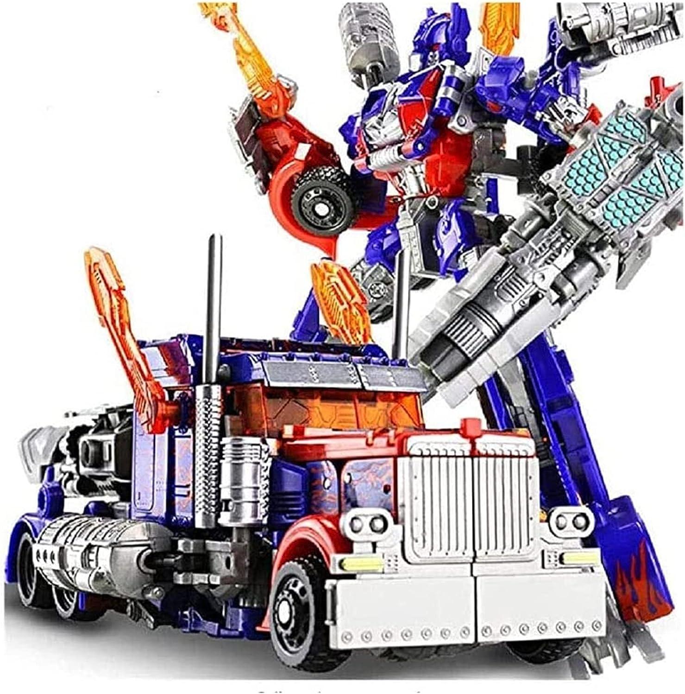 Los juguetes intelectuales de los niños, el robot de la transformación de dibujos animados del siglo jactante, Optimus Prime, Bumblebee, Robot de automóviles, variedad Dios de la guerra, las partes de