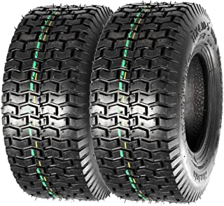 MaxAuto 11x4X5 11x4.00-5 Turf Saver Lawn & Garden Tire P512 LRA, Set of 2