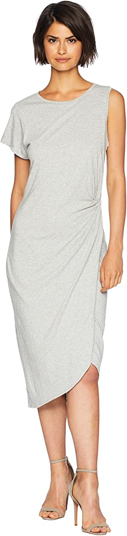 Salma Asymmetric Midi Dress