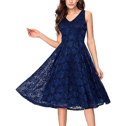 Tea Length Evening Dresses: Amazon.com