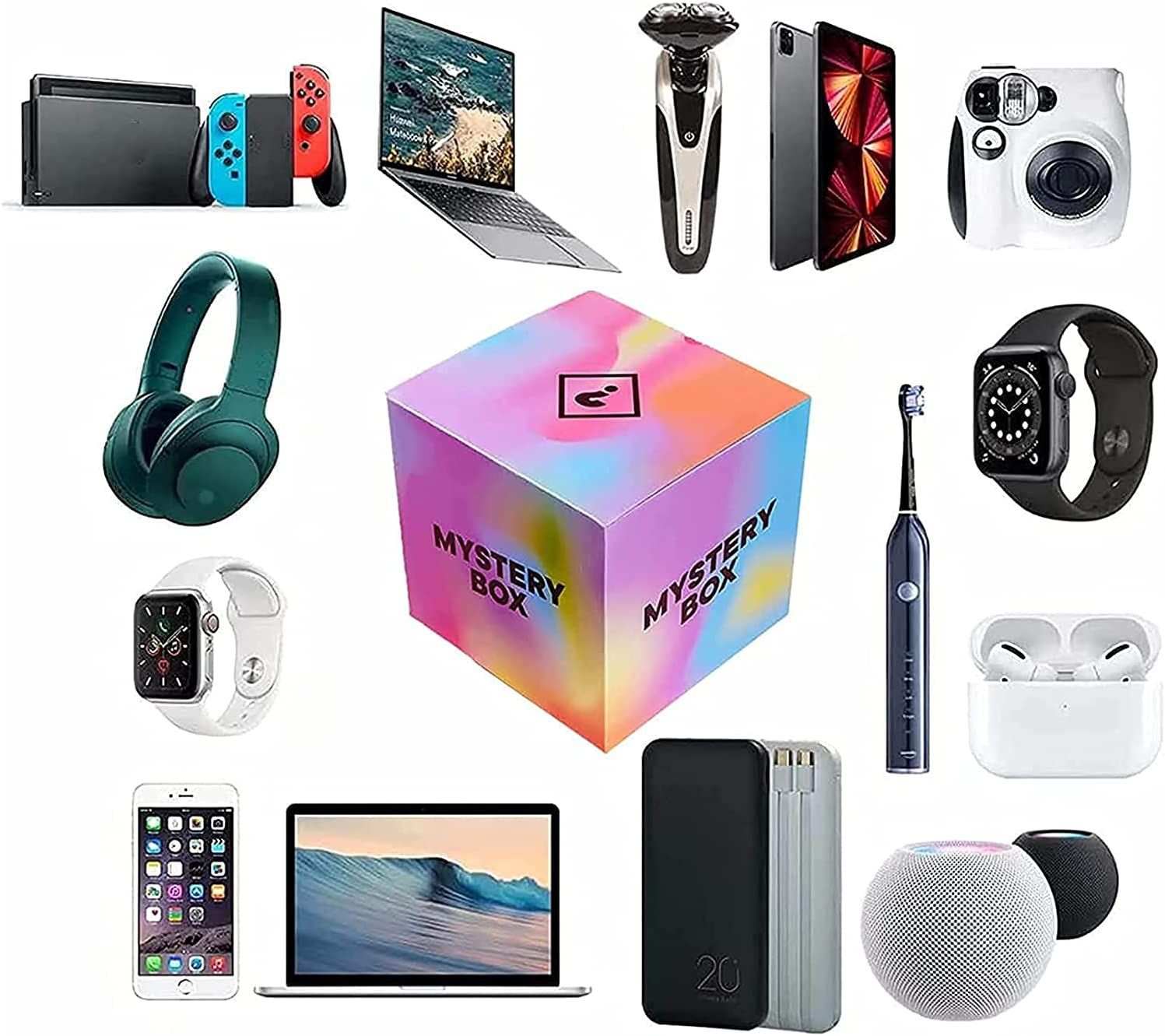 Mystery Box Boxes Random Surprise latest Ranking TOP3 Electronic Lucky