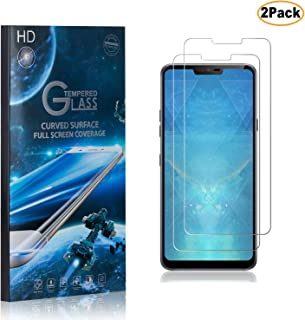 CUSKING LG G7 ThinQ Screen Protector Tempered Glass, 9H Hardness Abrasion Resistance Anti Scratch Screen Protector for LG G7 ThinQ, 2 Pack