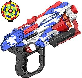 okk Blaster Pistol Toy for Kids, Blaster Pistol with 60 PCS Foam Darts Bullets and One Shooting Target Soft Bullet Pistol ...
