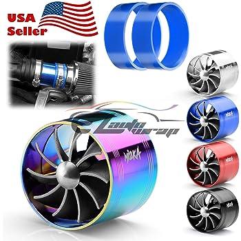 Auto Solid State Turbofan Booster Power Acceleration Vehicle Fuel Gas Saver 60-65mm FINIVE Turbonator Beschleunigung Titanlegierung 316L Baustahl