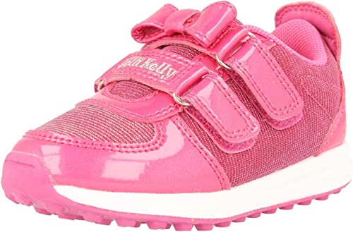 Lelli Kelly Couleurissima baskets Fuchsia Patent Infant Trainers