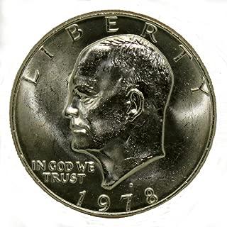 1978 D Eisenhower Dollar $1 Brilliant Uncirculated