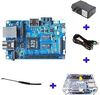 Original Banana Pi BPI M1 Plus A20 Dual Core 1GB RAM Open-source development board single board computer Raspberry pi compatible, Ship with Powerful Accessories