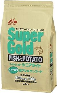 スーパーゴールド フィッシュアンドポテト シニアライト 犬用 2.4kg