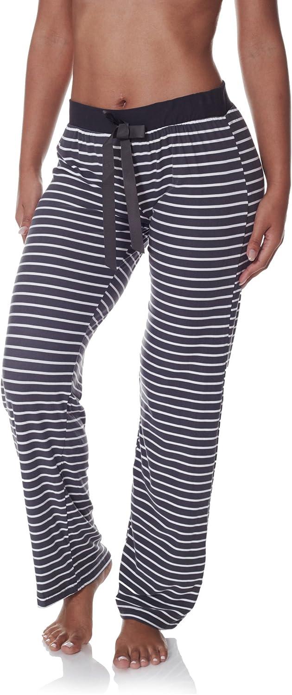 Sleep & Co. Womens Super Soft Casual Lounge Sleepwear Printed Long Pajama Pant