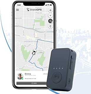 $39 » ShieldGPS AT2 - Portable 4G GPS Tracker - Long Battery Life for Vehicles, Equipment, People, Kids & Assets