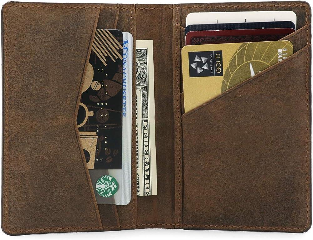 Otto angelino porta carte di credito portafoglio unisex OTTO329