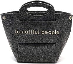 [ビューティフルピープル]beautiful people トートバッグ recycled felt constructive bag S 1035611963