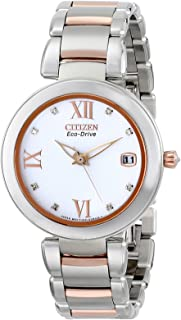 Citizen Women's Eco-Drive Signature Watch with Diamond Dial, EO1116-57A