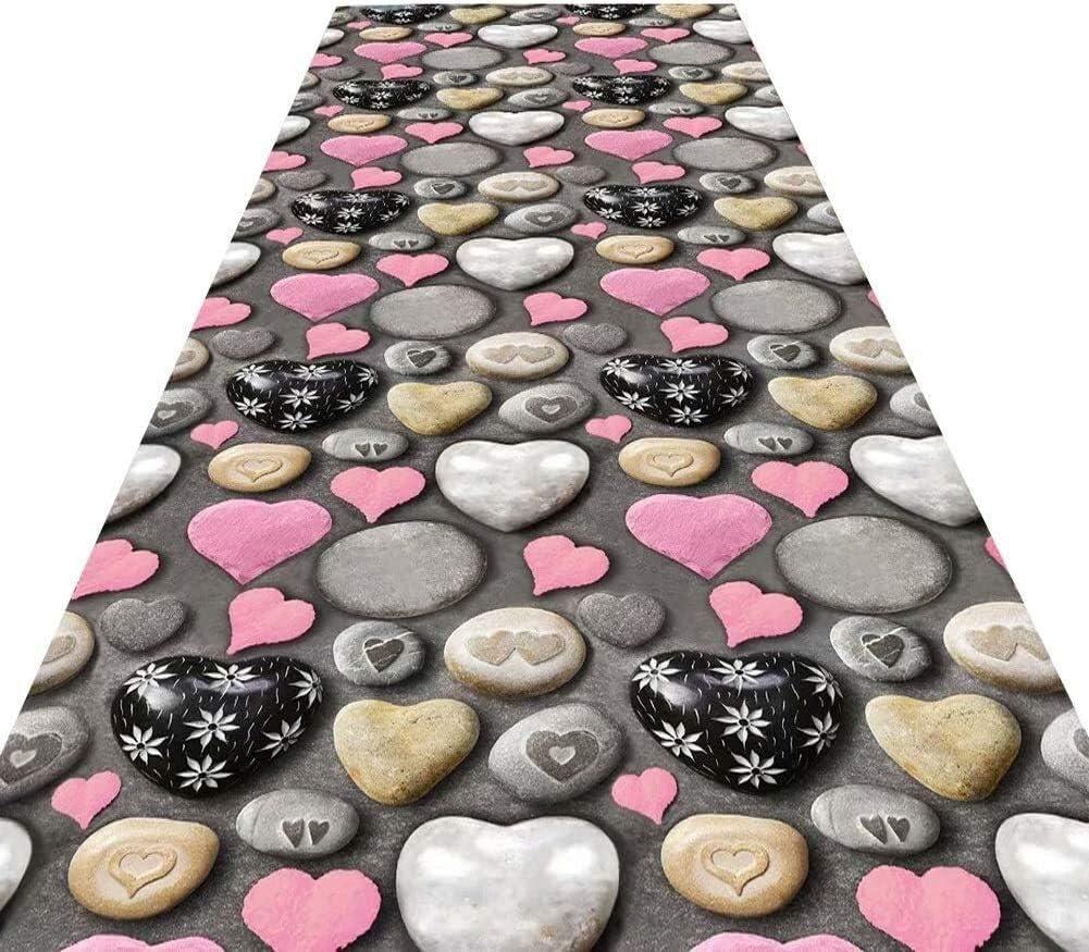 Gwendolyn Runners Corridor Carpet Oklahoma City Mall Non-Slip Rectangular 3D Max 61% OFF Runner