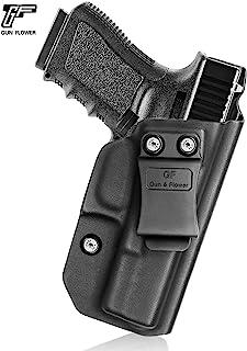 Glock 19 Holster Concealed Carry - KYDEX IWB Holster for Glock 19 19X 23 32 45 (Gen 1 2 3 4 5) - Inside Waistband - 9mm Gun Holsters Pistols Women/Man - Adj.Cant, No Wear, No Jitter