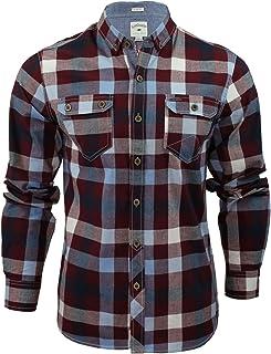 Lee Cooper Hadleigh Long Sleeve Cotton Check Shirt
