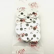 Cutex 10 Pk Aluminum Bobbin #B9117-563-000A for Juki LU-563 LU-1508, LU-1510