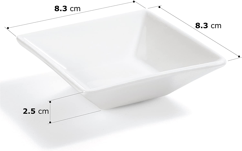 set da 6 pezzi Ciotoline per salse 6,9 x 5,3 x 3,4cm
