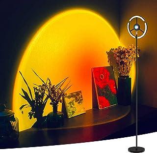 Lampadaire LED 27 W 2600 lm RVB à changement de couleur - Lampe de lecture avec 3 températures de couleur - Lampe de proje...