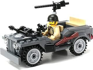 Battle Brick WW2 Willys Jeep Custom Set