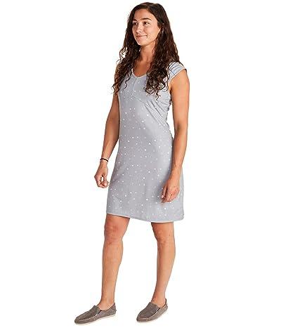 Marmot Annabelle Dress (Sleet Polka Dot) Women