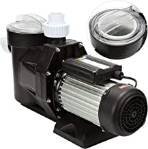 Happybuy Swimming Pool Pump 2.5HP 1850W 148GPM Single Speed Filter for Spa Water Circulation Above Ground, 148 GPM / 1500W
