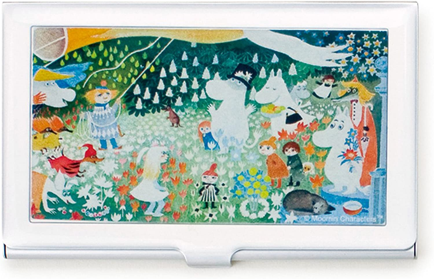 Moomin card case moominvalley (japan import)