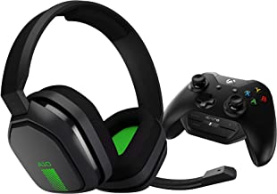 ASTRO Gaming A10 Gaming Headset + MixAmp M60 - Green/Black - Xbox One (Renewed)