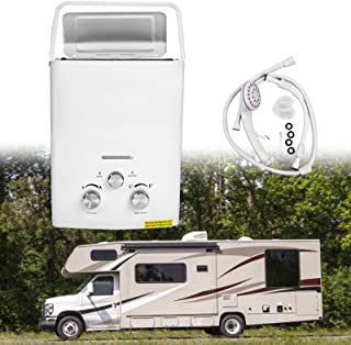 portable water heaters for campers