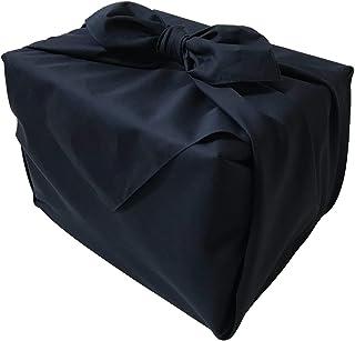 風呂敷 紺 110cm 綿 ブロード 無地 ふろしき 3.63尺 大判 冠婚葬祭