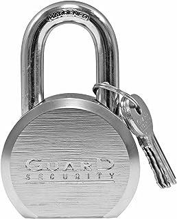 Guard Security 365 Commercial-Grade 2-5/8-inch High-Security Steel Padlock with Keys, Keyed Alike Padlock