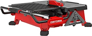 craftsman wet tile saw