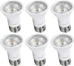 Hyperikon LED PAR16 Bulb, 6.5W (40 Watt), Dimmable Spot Light, E26 Base, 2700K, UL, Energy Star, 6 Pack
