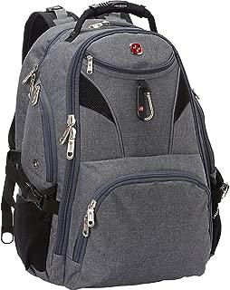 SwissGear Travel Gear 5977 Scansmart TSA Laptop Backpack for Travel, School & Business - Fits 17 Inch Laptop - (Grey)