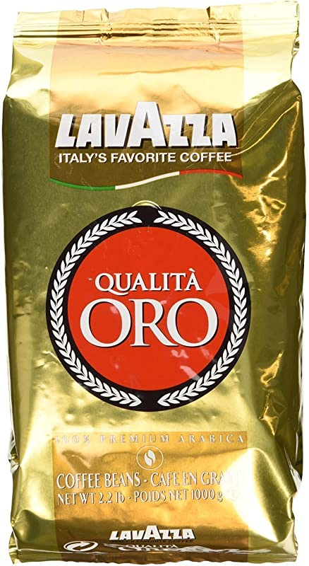 Lavazza Qualita Oro Italian Coffee Whole Beans 2 2 Pound Pack Of 2
