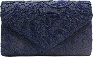 Wiwsi Female Evening Party Prom Lace Floral Clutches Bags Bridal Handbags Purse