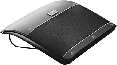 Jabra 100-46000000-02 Freeway Bluetooth In-Car Speakerphone (U.S. Retail Packaging) (Renewed)