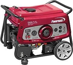 Powermate 6957 DF3500E 3500 Watt Dual Fuel Portable Generator - Electric Start/CSA Compliant