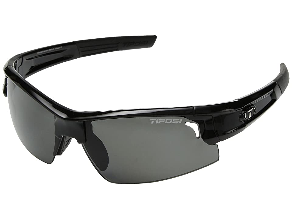 Tifosi Optics Synapse (Gloss Black) Athletic Performance Sport Sunglasses