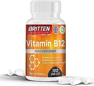 Vitamina B12 250 μg 180 tabletas (suministro