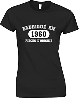 Tim And Ted French Womens Tshirt Fabriqu En 1960 Pices D'origine
