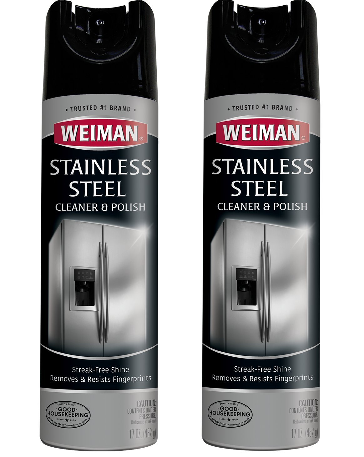 Weiman Denver Mall Stainless Steel Cleaner and Polish Pack 2 Ounce 17 - Great interest