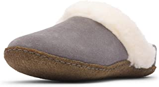 Women's Nakiska Slide II House Slippers with Suede and Faux Fur Lining