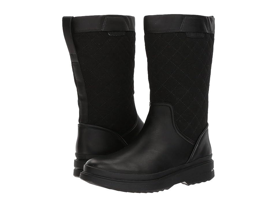 Cole Haan Millbridge Pull-On Boot Waterproof (Black Leather) Women