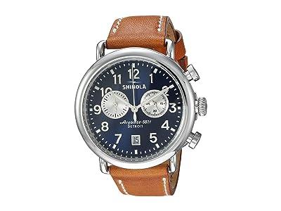 Shinola Detroit The Runwell 41mm 20044131 (Tan Beaumont) Watches
