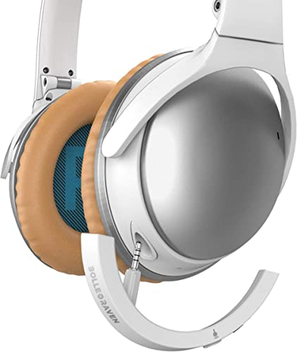 AirMod Wireless Bluetooth Adapter for Bose QuietComfort 25 Headphones (QC25) White
